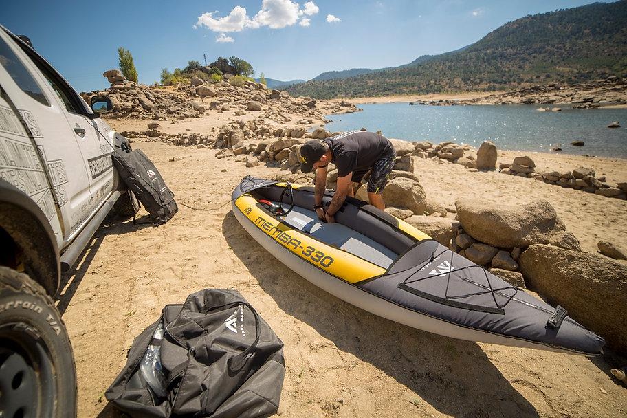 Kayak y SUP en El Burguillo, Aqua Marina