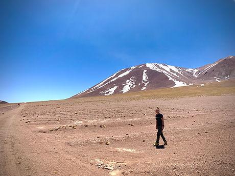 Laguna Lejia. Desierto de Atacama