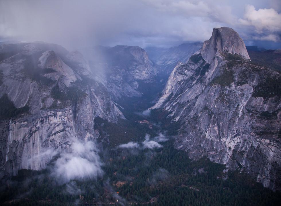 Glacier Point, Yosemite National Park, California. Estados Unidos