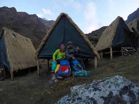 Campamento 1, Salkantay Trek