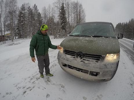 Road Trip España Circulo Polar