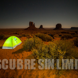 Acampada en Monument Valley