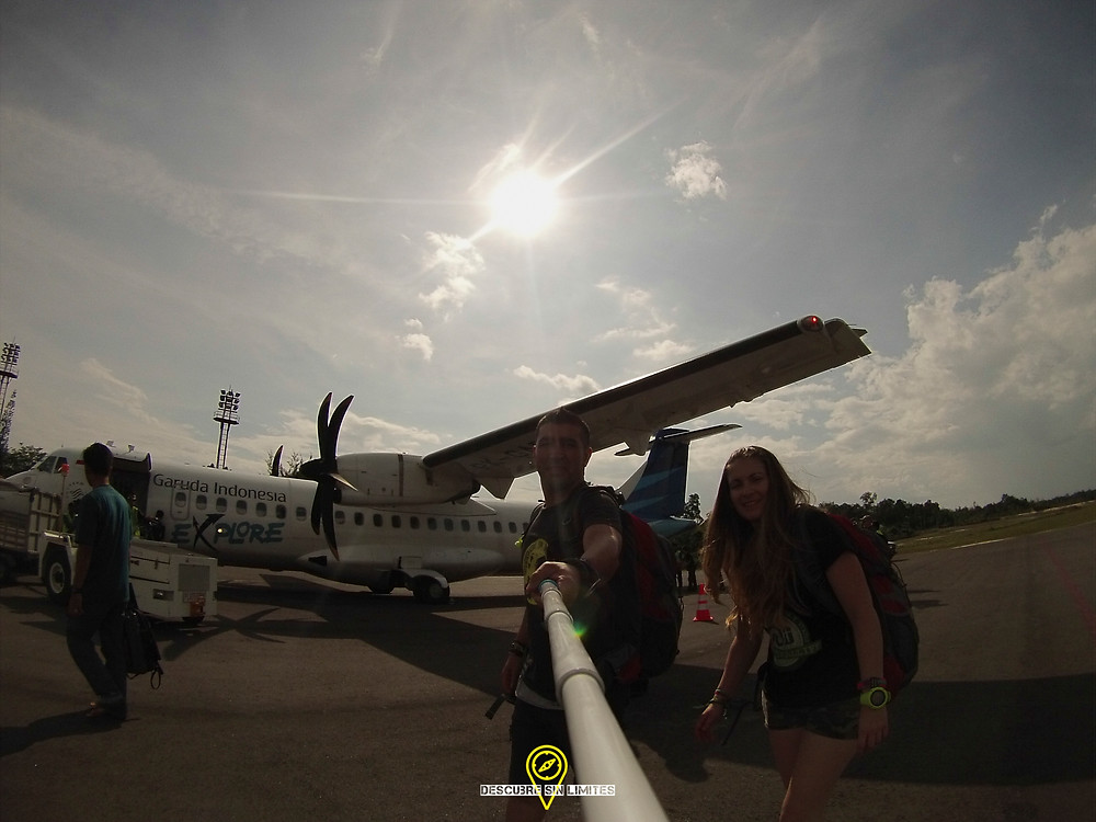 Llegada a Borneo