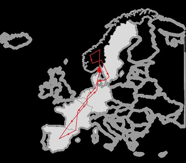 Ruta Noruega en furgoneta