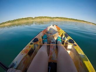 Kayak en el Embase de Buendia