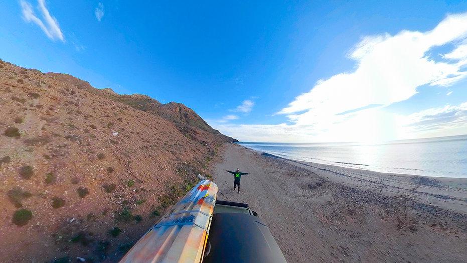 Kayak en Cabo de Gata, Almería