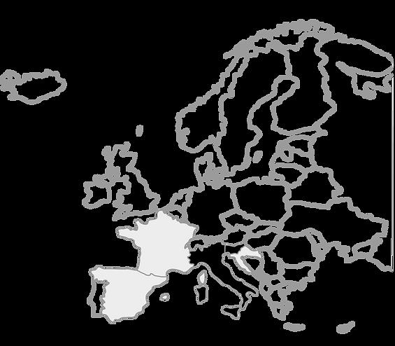 Mapa Europa RoadTrip Dolomitas Eslovenia