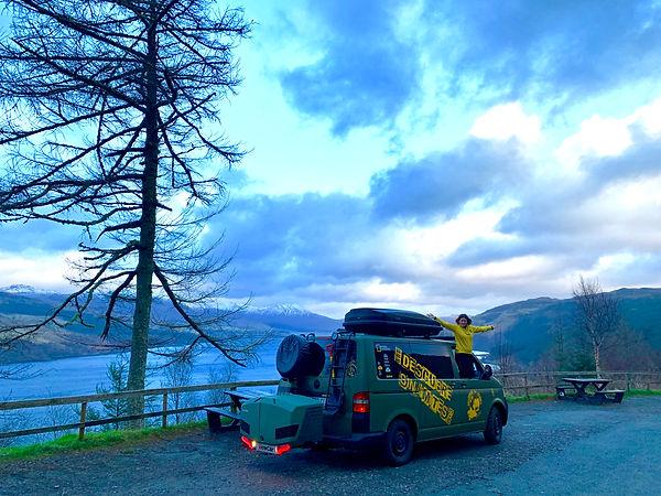 Escocia en furgoneta. Descubre Sin Limites
