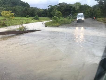 Rio desbordado, Costa Rica
