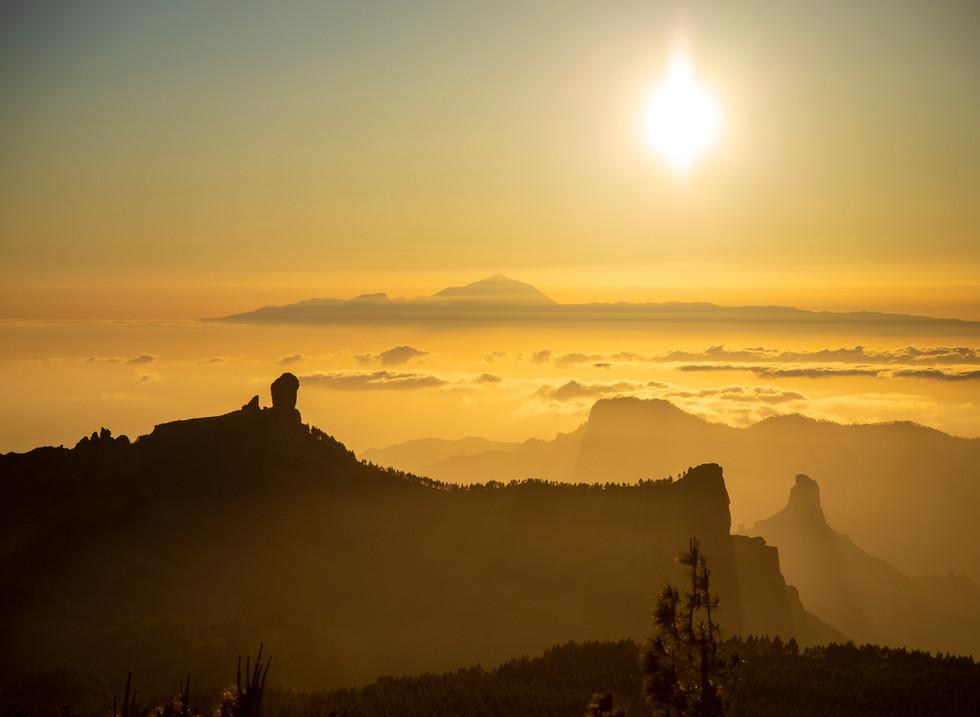 Pico de las Nieves, Gran Canaria. España