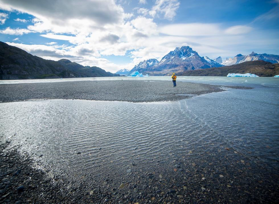 Glaciar Grey. Parque Nacional Torres del Paine, Chile