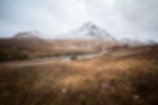 Glen Etive. Escocia en furgoneta