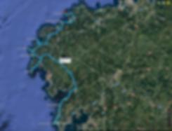 Mapa Ruta Costa da Morte, Descubre Sin Limites