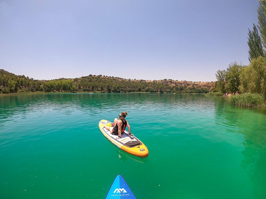 SUP en Lagunas de Ruidera, Descubre Sin Limites
