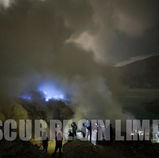 Blue Fire, Volcán Ijen