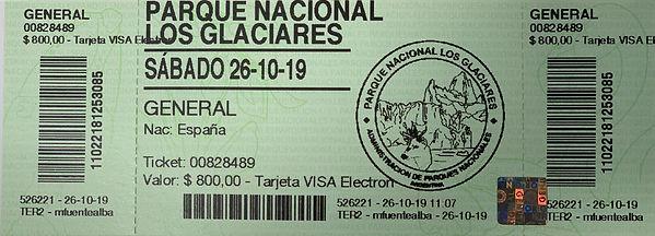 Entrada Perito Moreno