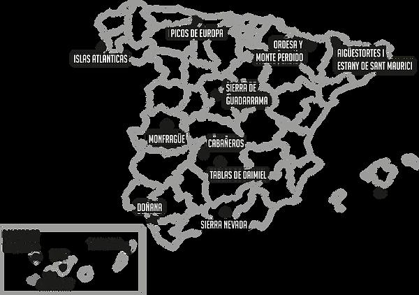 Parques Nacionales de España, Descubre Sin Limites