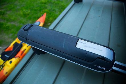 Portakayak vertical Whispbar WB400. TowCar