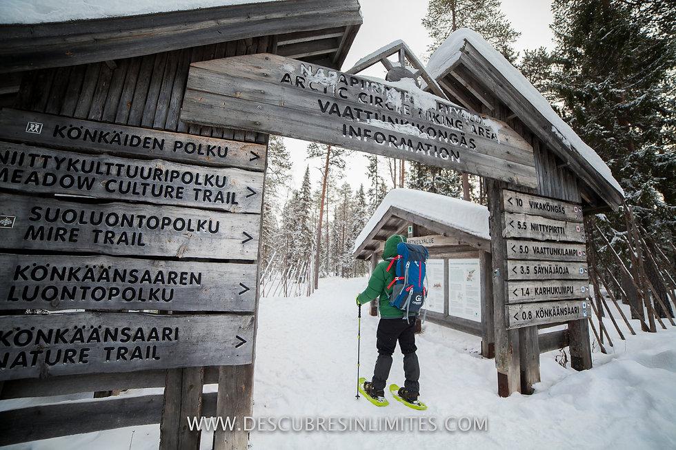 Arctic Circle Hiking Area