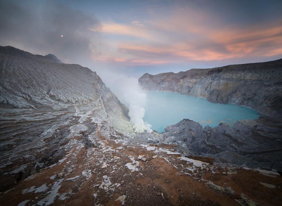 Volcán Ijen, Java. Indonesia