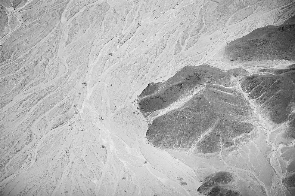 El Astronauta, Lineas de Nazca
