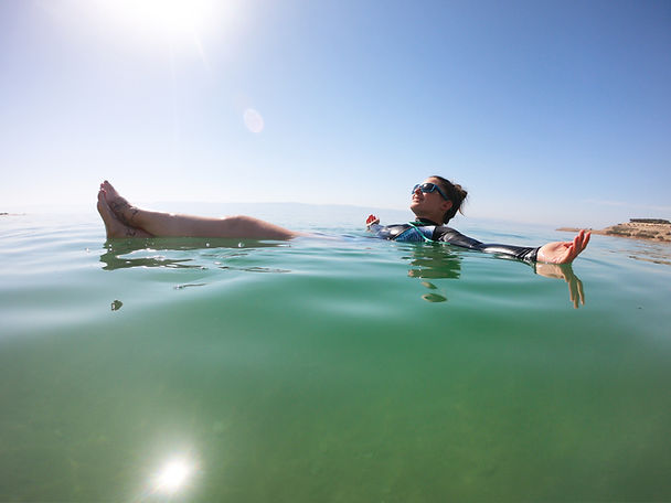Mar Muerto, Jordania por libre