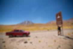 Volcán Lascar. Desierto de Atacama