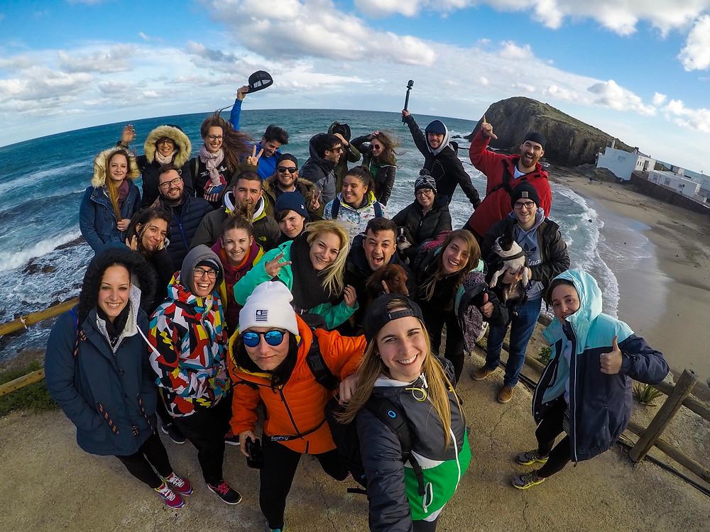 Foto de grupo. Isleta del Moro