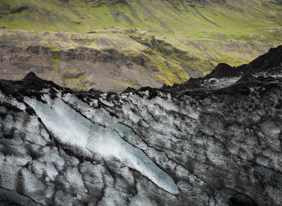 Glaciar Solheimajökul, Islandia