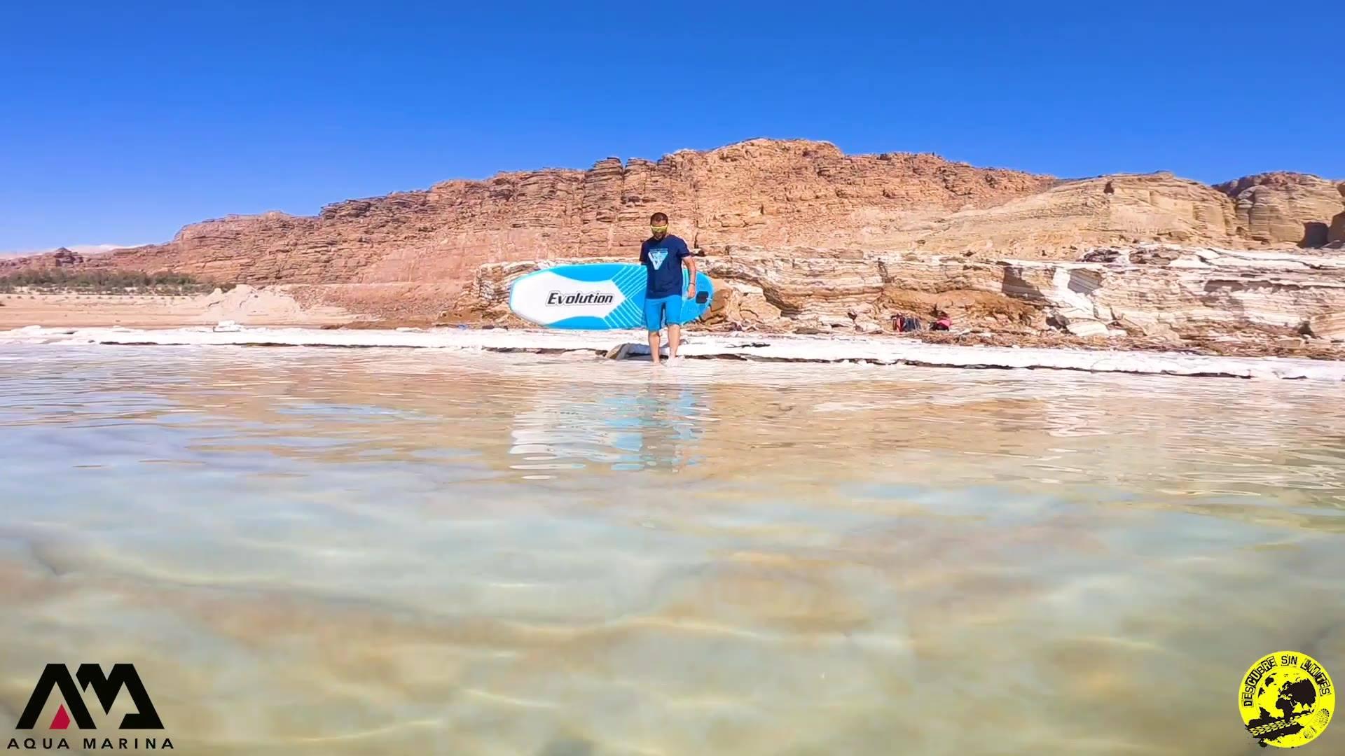 SUP en el Mar Muerto