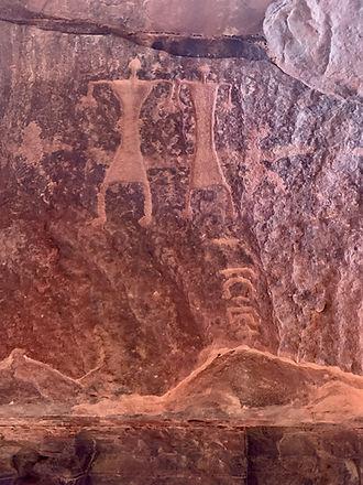Petroglifos Wadi Rum, Jordania