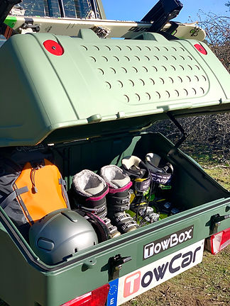 TowBox V1 TopSki, TowCar