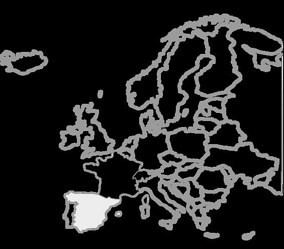 Mapa Europa RoadTrip Alpes Francia Suiza