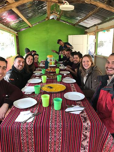 Compañeros de ruta, Salkantay Trek