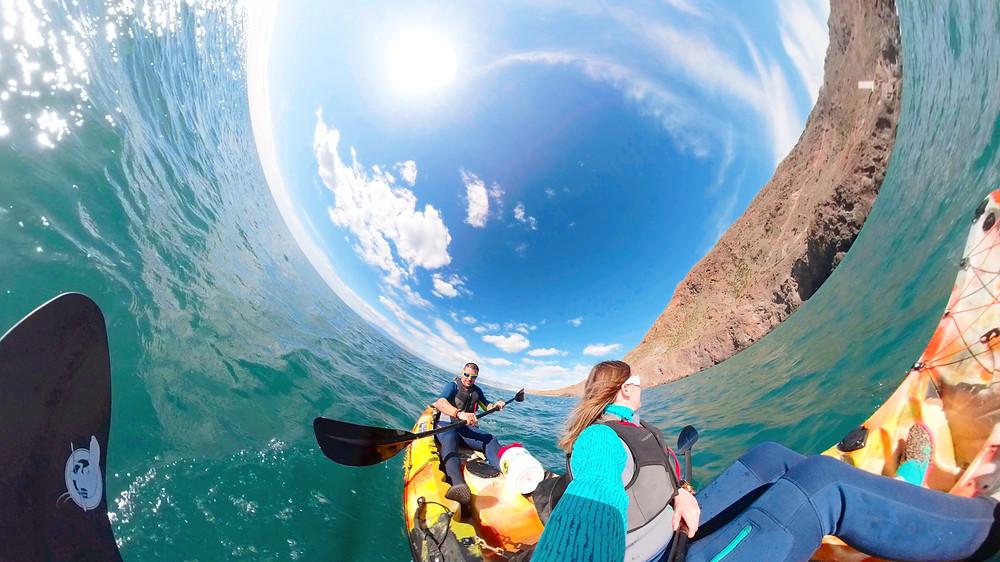 Kayak en Cabo de Gata, Almeria
