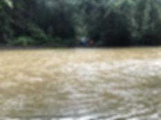 Cruce de rios en Costa Rica