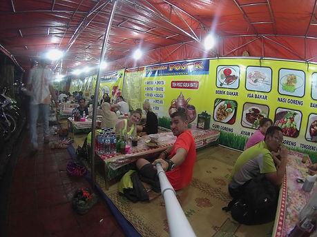 Comida Callejera en Jl Malioboro, Yogyakarta
