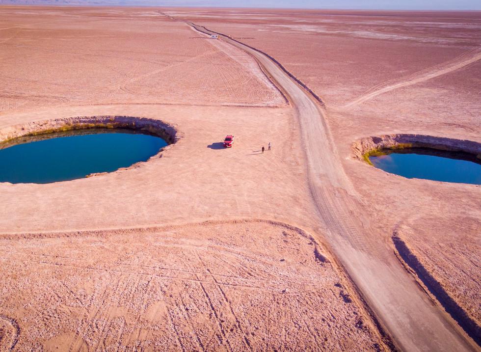 Ojos del Salar, Desierto de Atacama. Chile