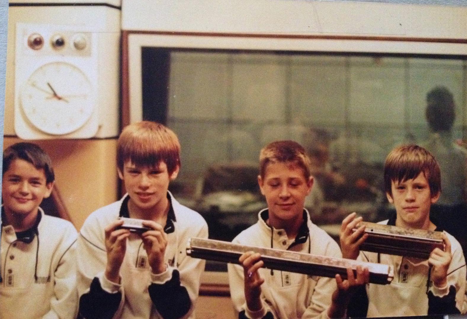 with Random Sound at Radion Norfolk 1989