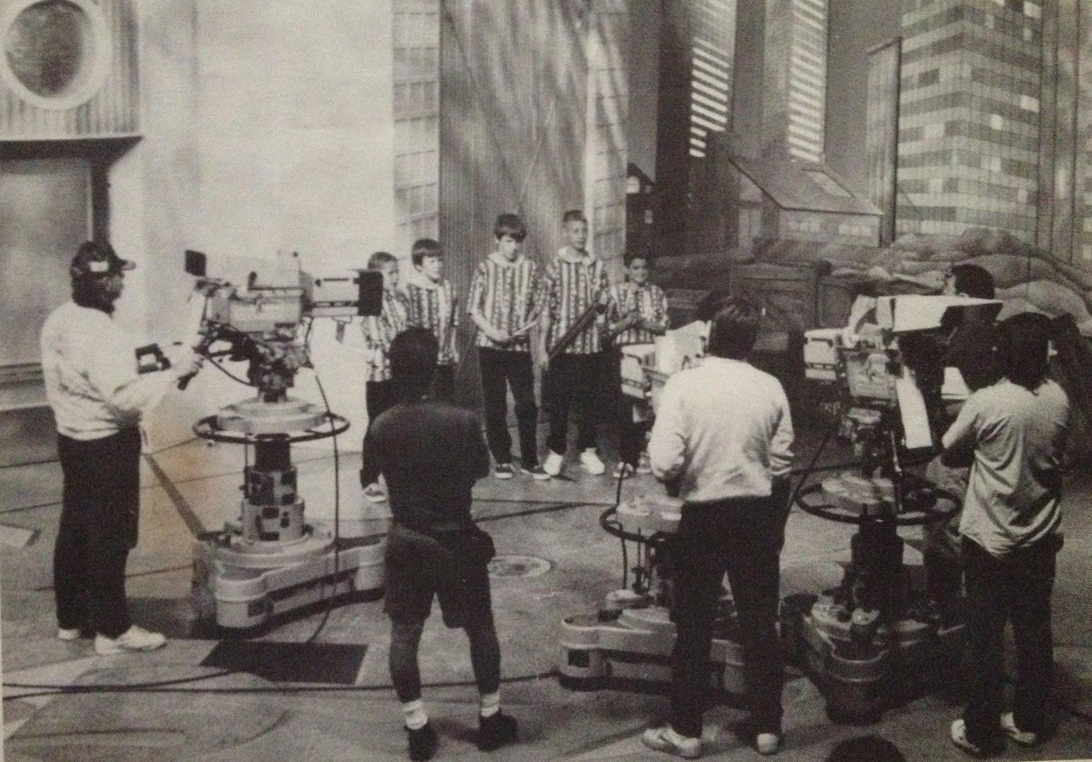 With Random Sound at Disney Studios 1990