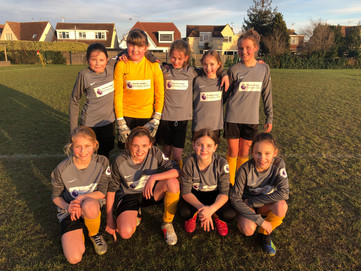 Girls' football vs. Bournes Green Junior School