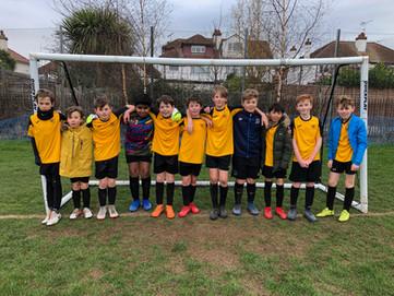 Yr 5/6 boys' football vs. Earls Hall