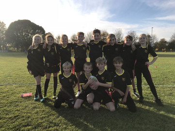 Year 5/6 Tag Rugby B Team Festival