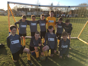 Yr5/6 Boys football V Earls Hal