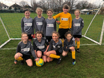 Girls football V Fairways