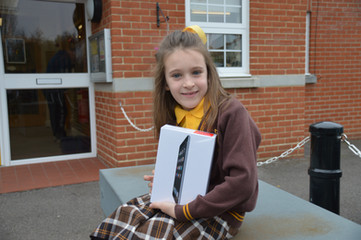 Year 3 pupil names local business
