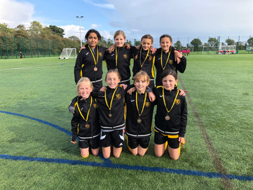 Yr 5/6 Girls' football tournament