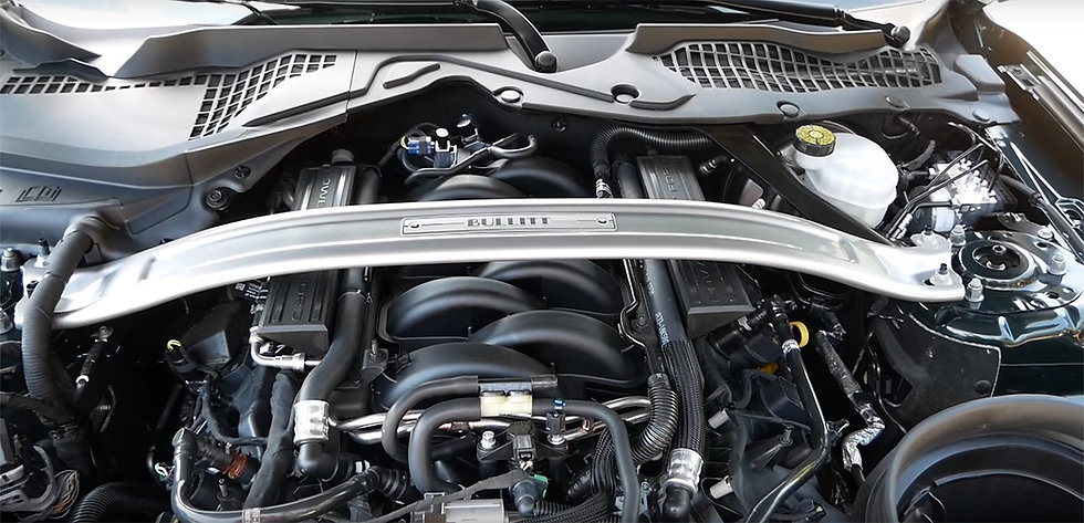 Domstrebe BULLITT für Mustang GT V8/Ecoboost/Coupe/Convertible