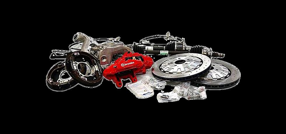 Brembo Upgrade Bremsanlage AMS für Mustang GT V8/Ecoboost/Coupe/Convertible