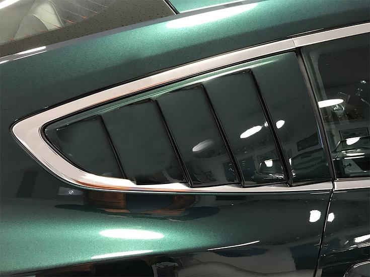 Seitenscheiben-Louvers lackiert für Mustang GT V8/Ecoboost/Coupe
